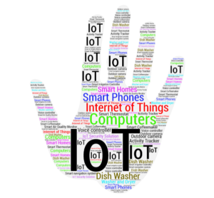 Internet of Things hand